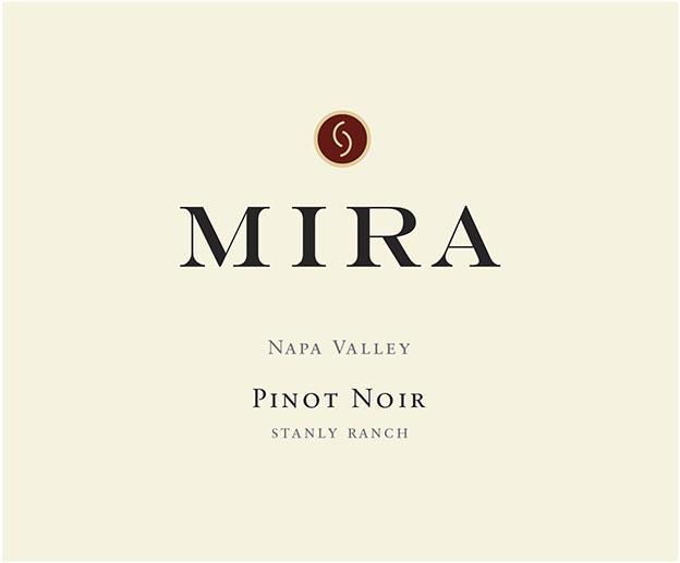 Mira Winery Stanly Ranch Pinot Noir 2016  Front Label