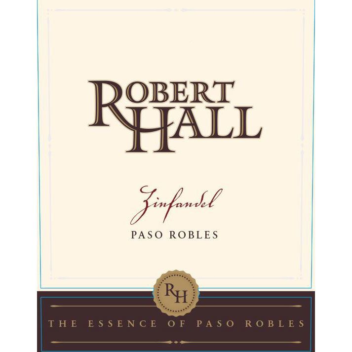 Robert Hall Zinfandel 2016  Front Label