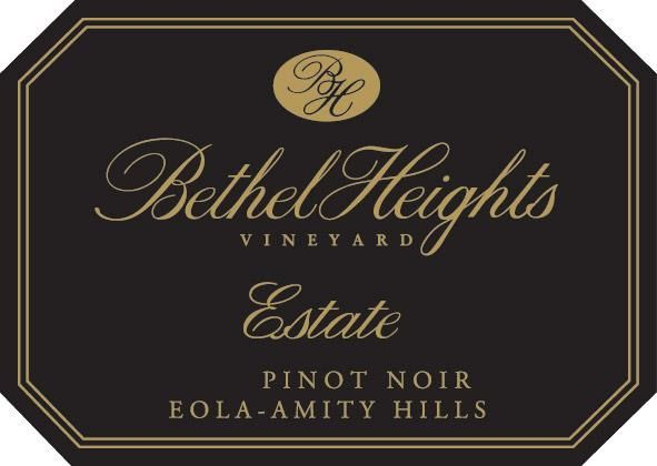 Bethel Heights Estate Pinot Noir (1.5 Liter Magnum) 2017  Front Label