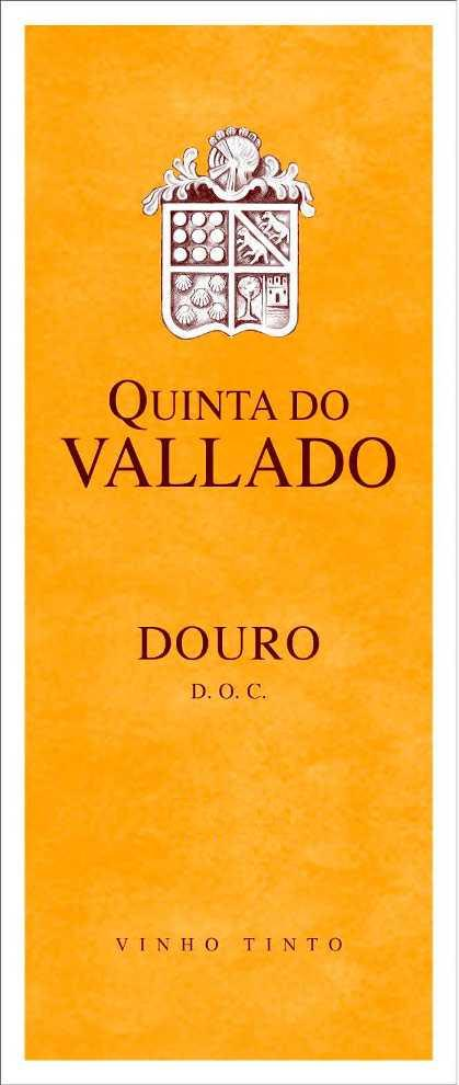 Quinta do Vallado Touriga Nacional Douro 2016  Front Label