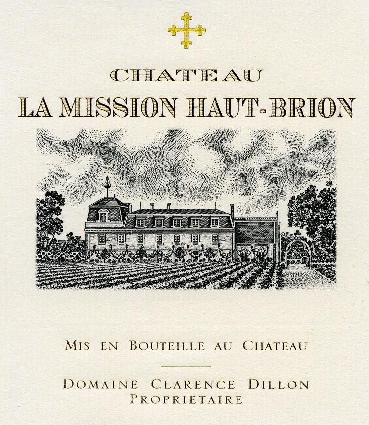 Chateau La Mission Haut-Brion Blanc (Futures Pre-Sale) 2019  Front Label
