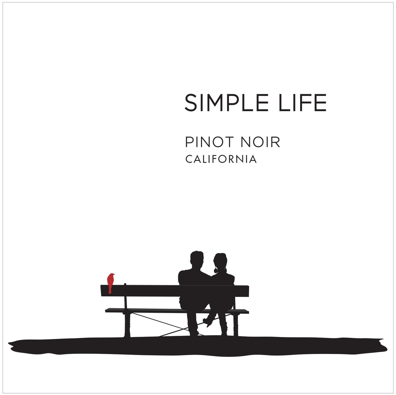 Simple Life Pinot Noir 2017 Front Label