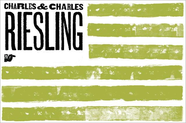 Charles & Charles Riesling 2017  Front Label