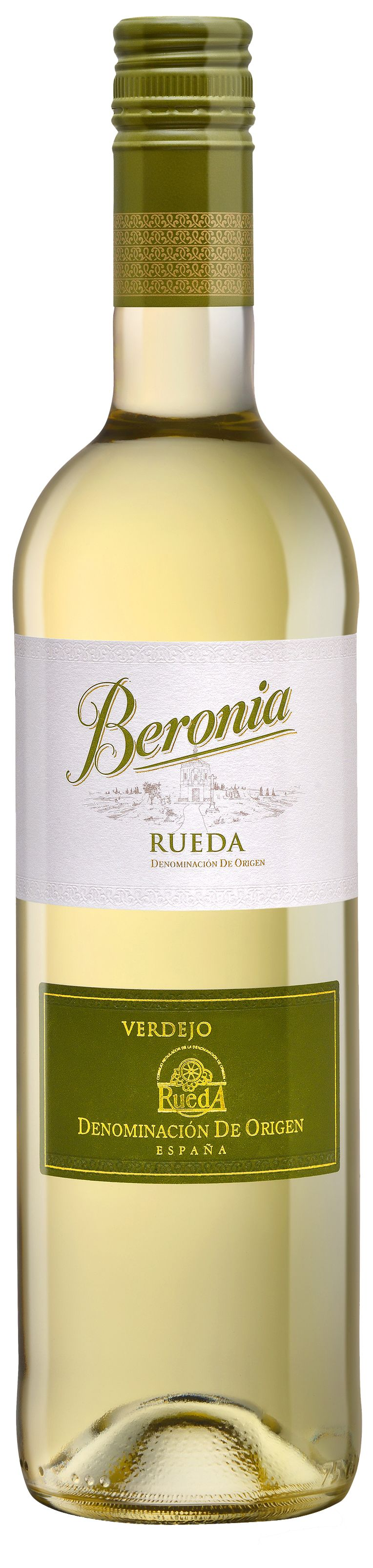 Bodegas Beronia Rueda 2017  Front Bottle Shot