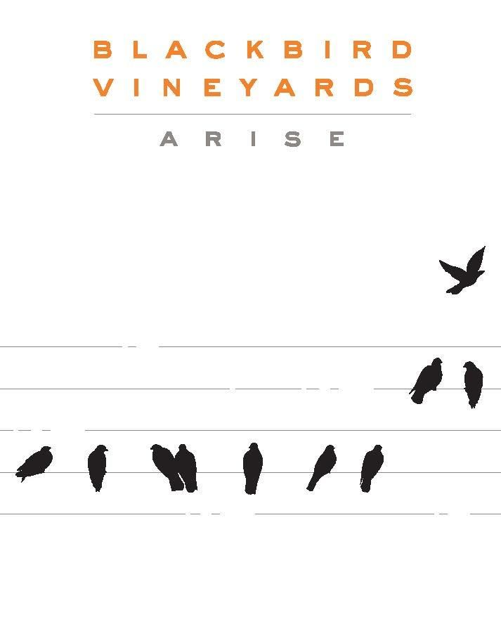 Blackbird Vineyards Arise Napa Valley Proprietary Red 2016  Front Label