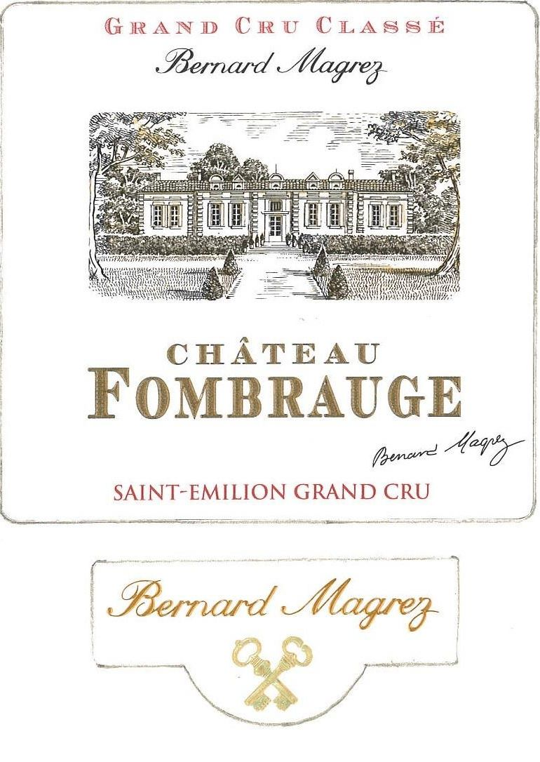 Chateau Fombrauge (Futures Pre-Sale) 2018  Front Label