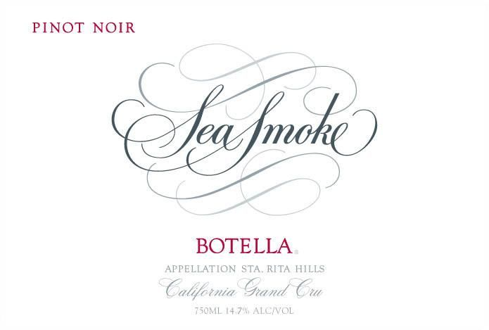 Sea Smoke Cellars Botella Pinot Noir (wrinkled labels) 2005  Front Label