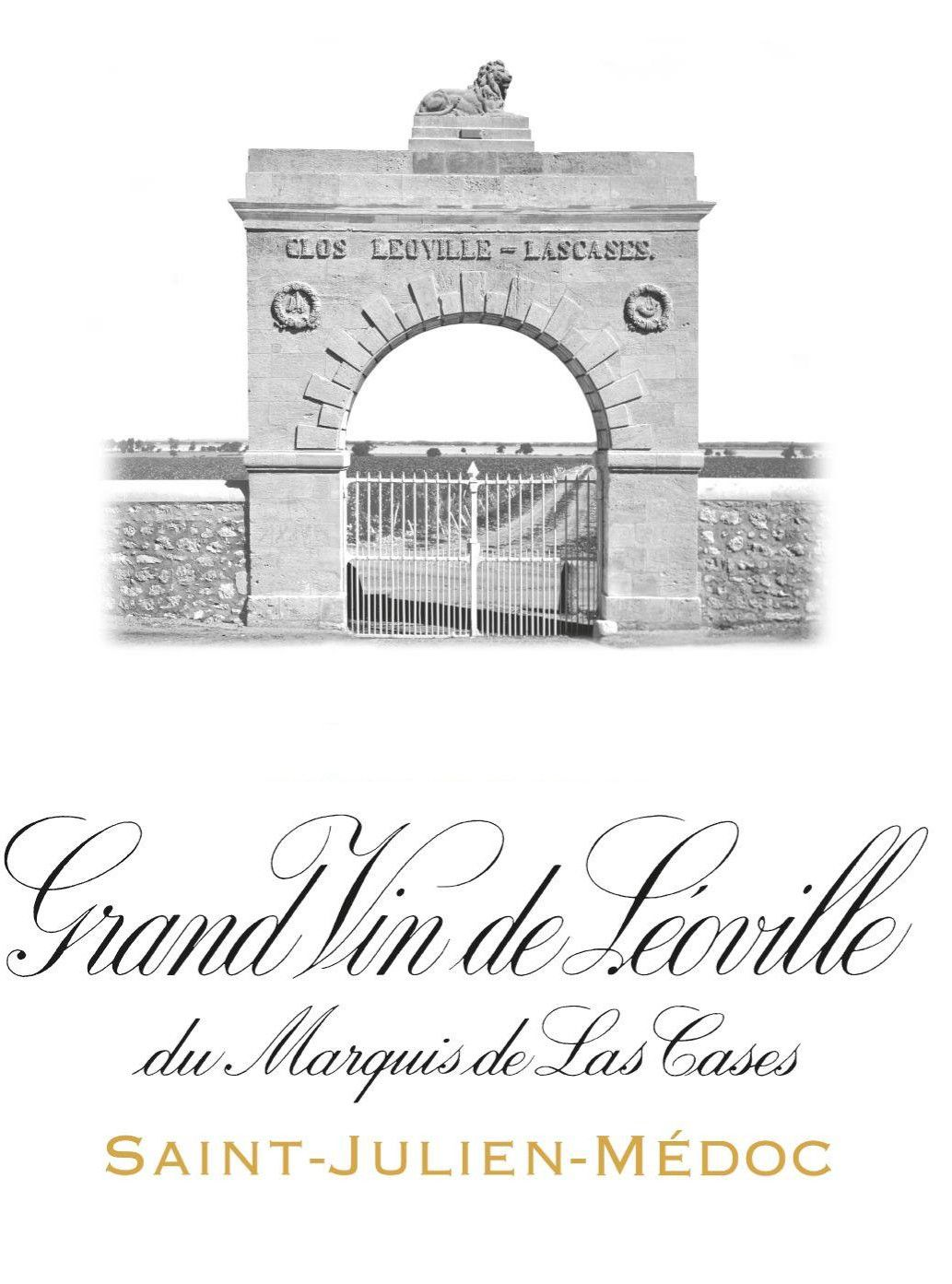Chateau Leoville Las Cases (Futures Pre-Sale) 2019  Front Label