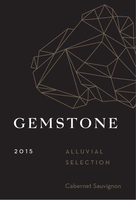Gemstone Vineyard Alluvial Selection Cabernet Sauvignon 2015 Front Label