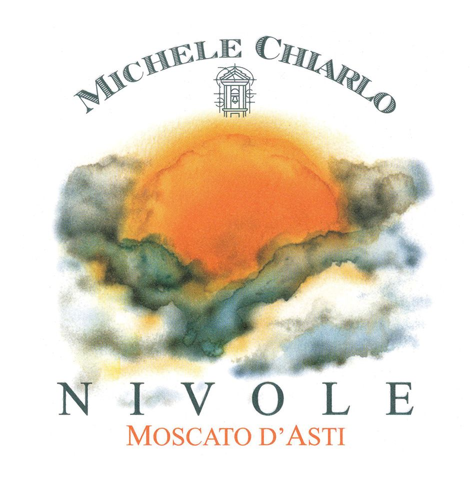 Michele Chiarlo Nivole Moscato d'Asti (375ML half-bottle) 2018  Front Label