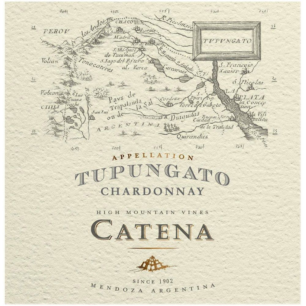 Catena Appellation Tupungato Chardonnay 2018  Front Label