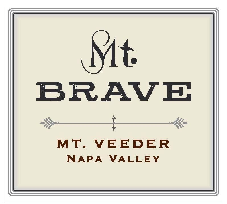 Mt. Brave Malbec 2016  Front Label