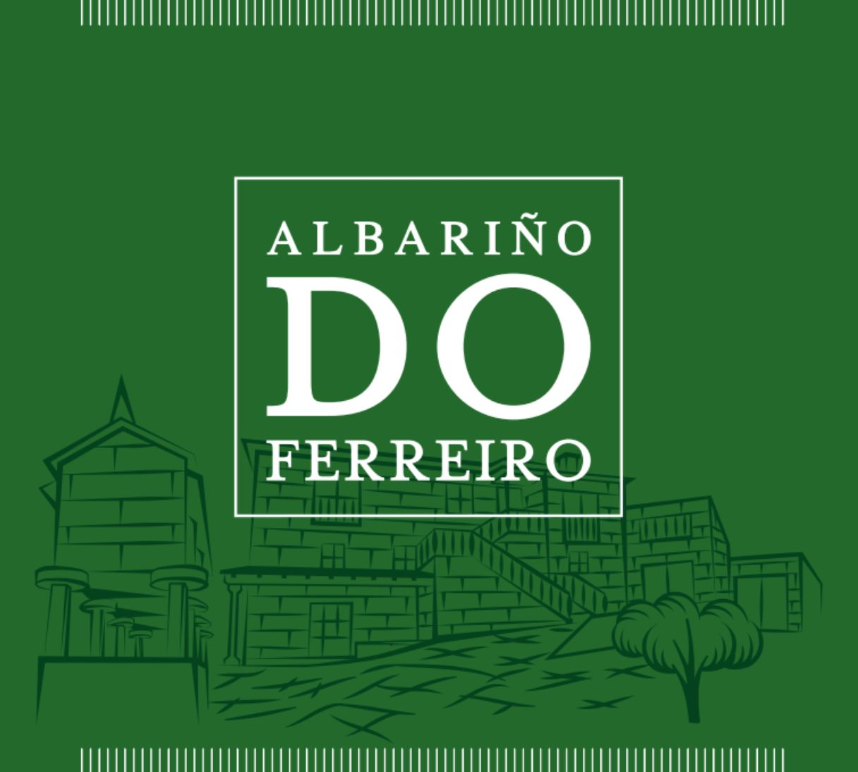 Do Ferreiro Albarino 2017  Front Label