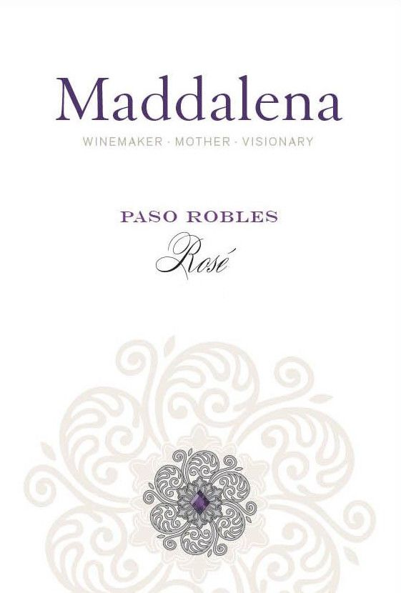 Maddalena Rose 2018 Front Label