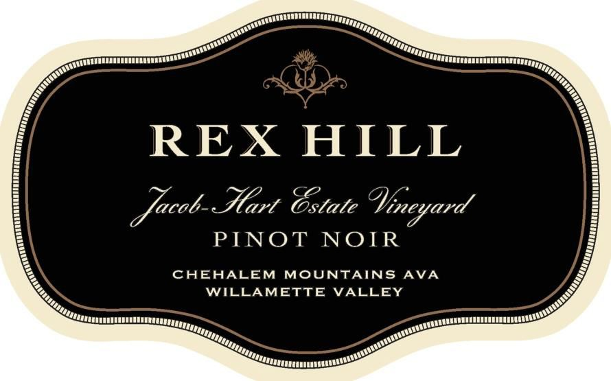 Rex Hill Jacob Hart Vineyard Pinot Noir 2017  Front Label