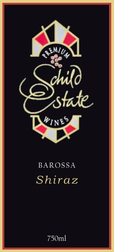 Schild Estate Shiraz 2005 Front Label
