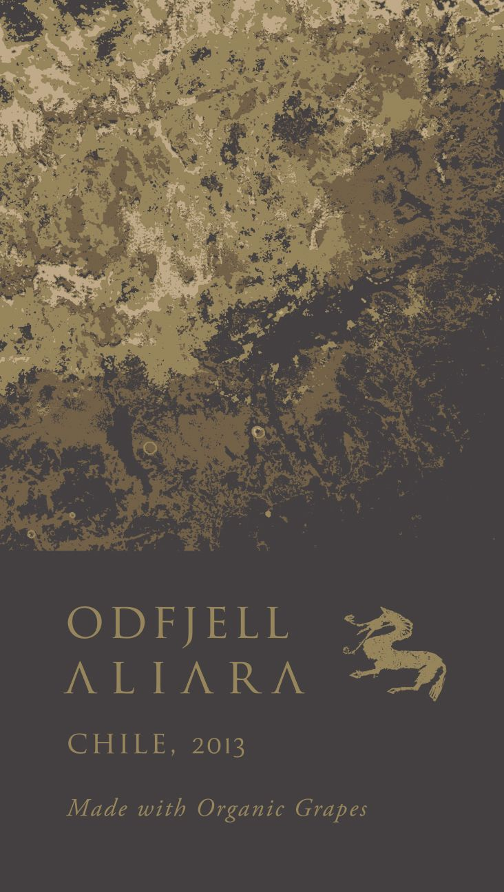 Odfjell Aliara 2013 Front Label