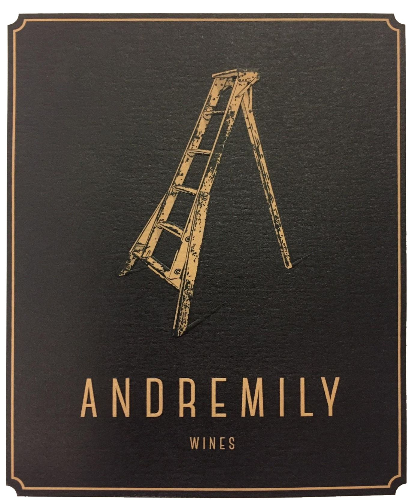 Andremily Syrah No. 6 2017  Front Label