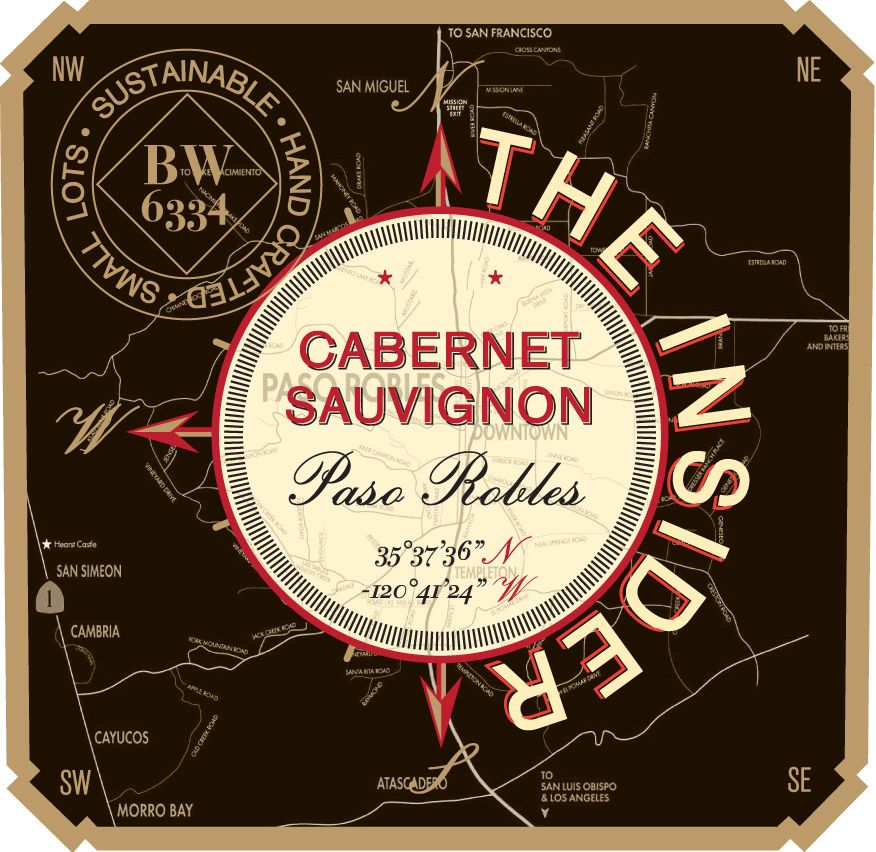 Vinum Cellars The Insider Cabernet Sauvignon 2017  Front Label