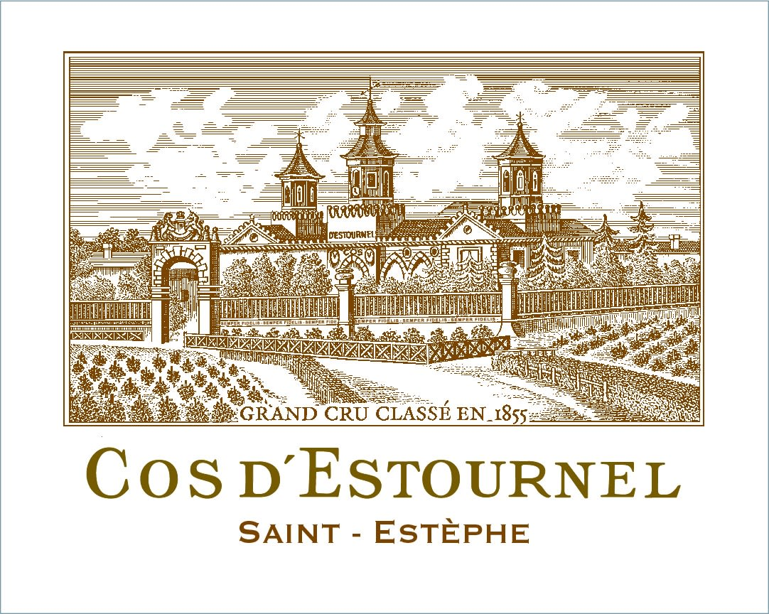 Chateau Cos d'Estournel 6-Pack OWC (Futures Pre-Sale) 2019  Front Label