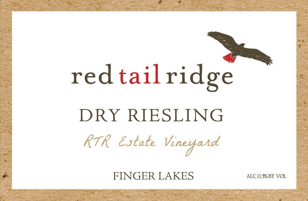 Red Tail Ridge Estate Dry Riesling 2017  Front Label