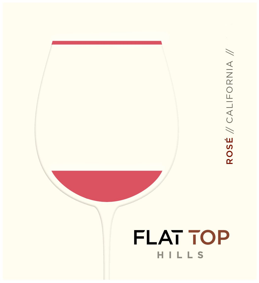 Flat Top Hills Rose 2018  Front Label