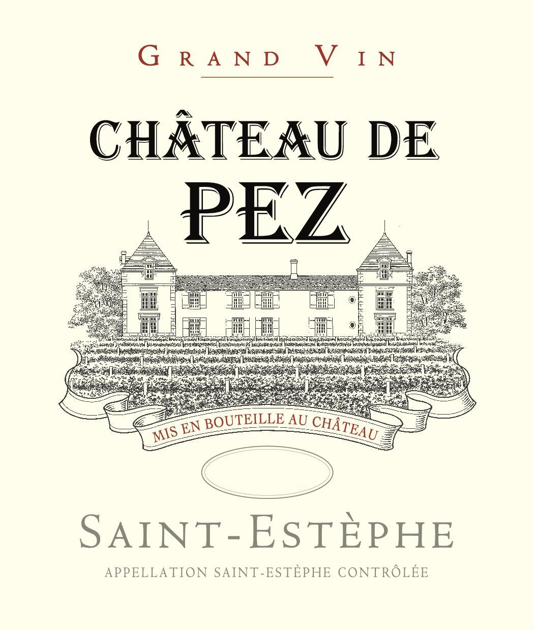Chateau de Pez  2017  Front Label