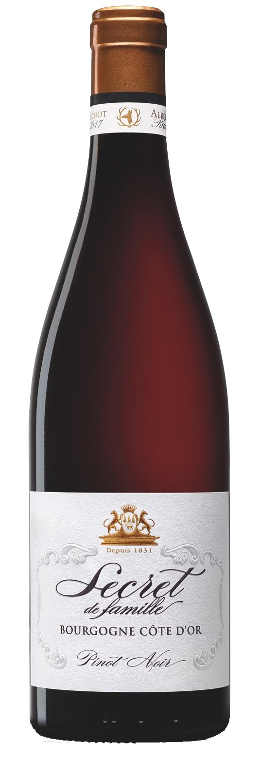 Albert Bichot Secret de Famille Pinot Noir 2017  Front Bottle Shot
