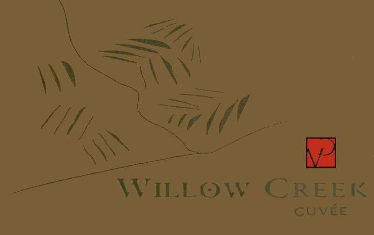 Villa Creek Willow Creek Cuvee 2003  Front Label