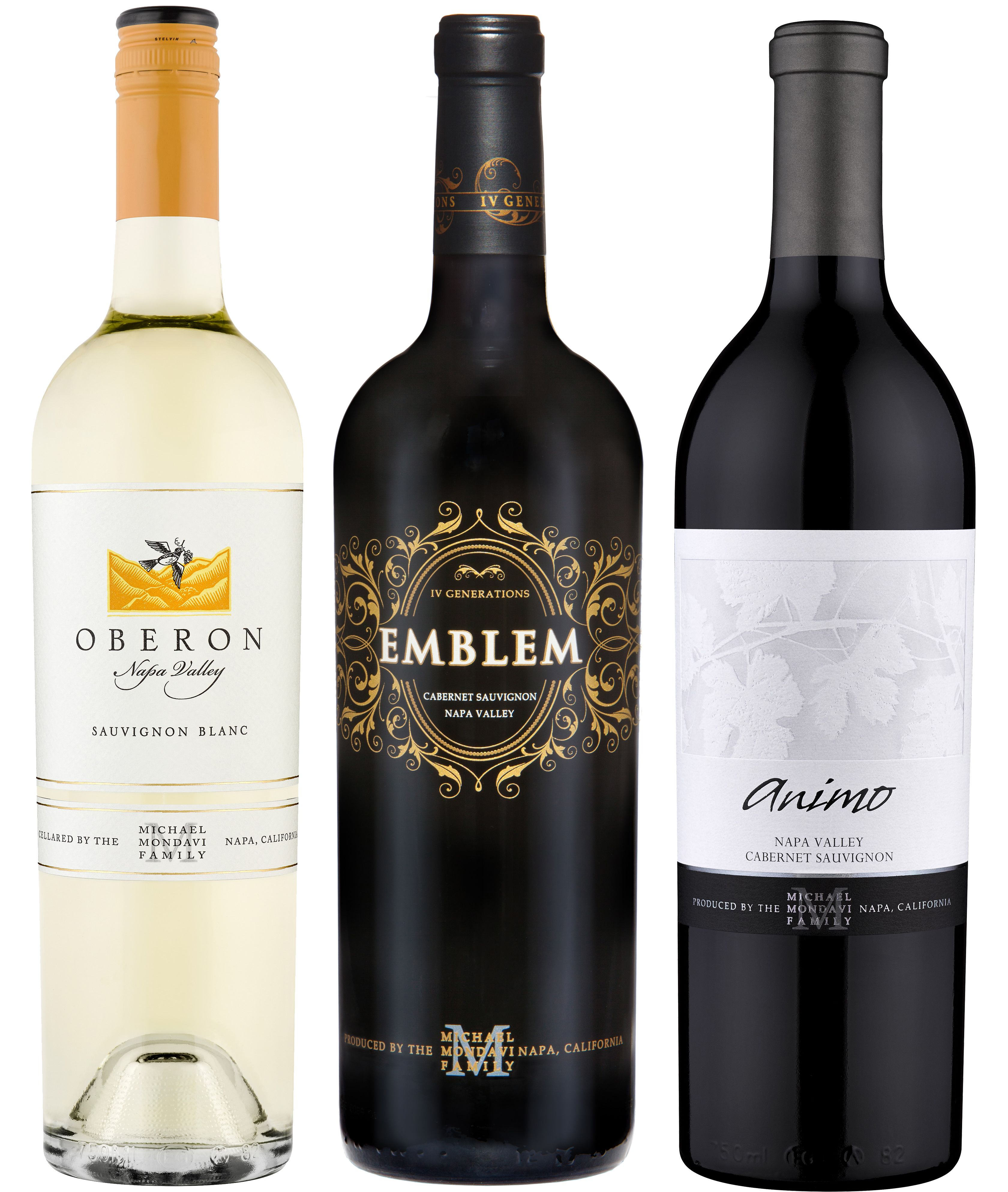 wine.com Michael Mondavi Family Estate Tasting Trio  Gift Product Image