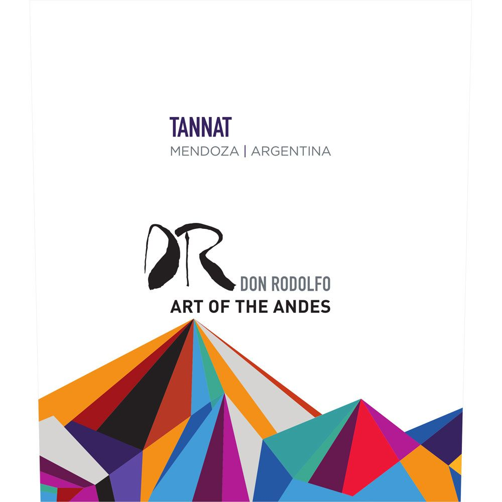 Don Rodolfo Tannat 2017  Front Label