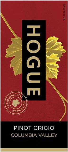 Hogue Pinot Grigio 2018  Front Label