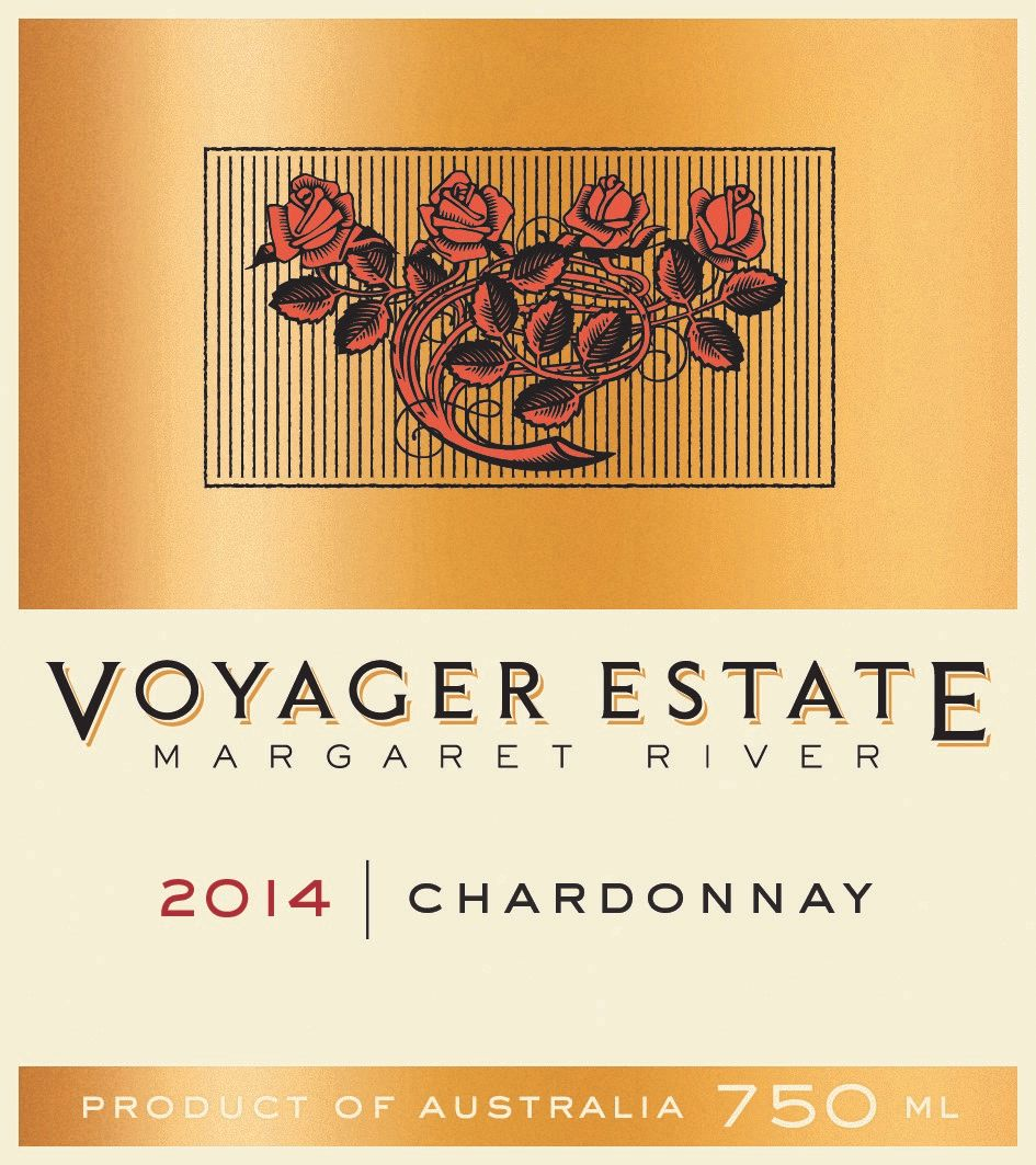 Voyager Estate Chardonnay 2014  Front Label