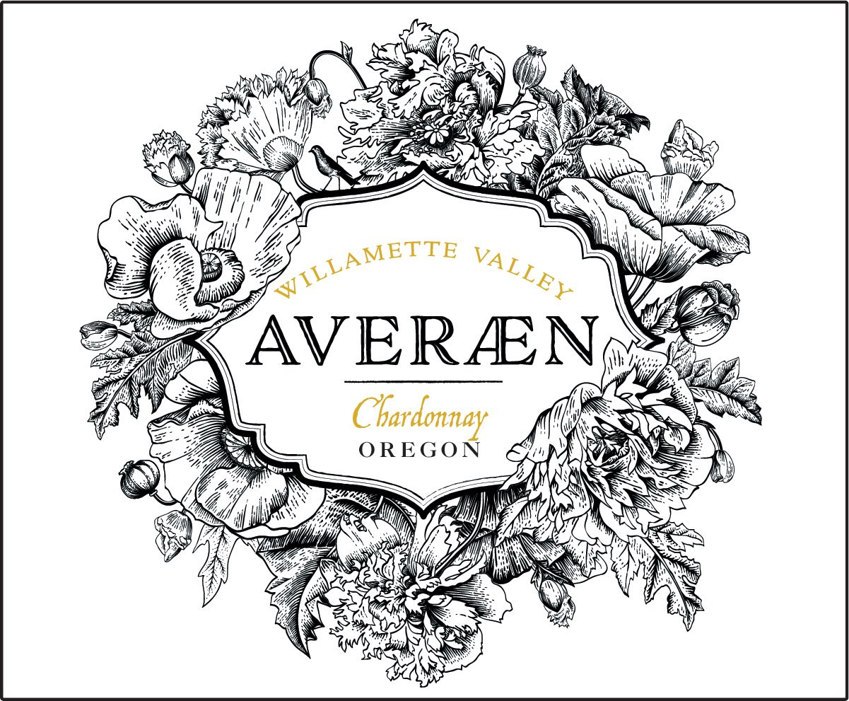 Averaen Willamette Valley Chardonnay 2018  Front Label