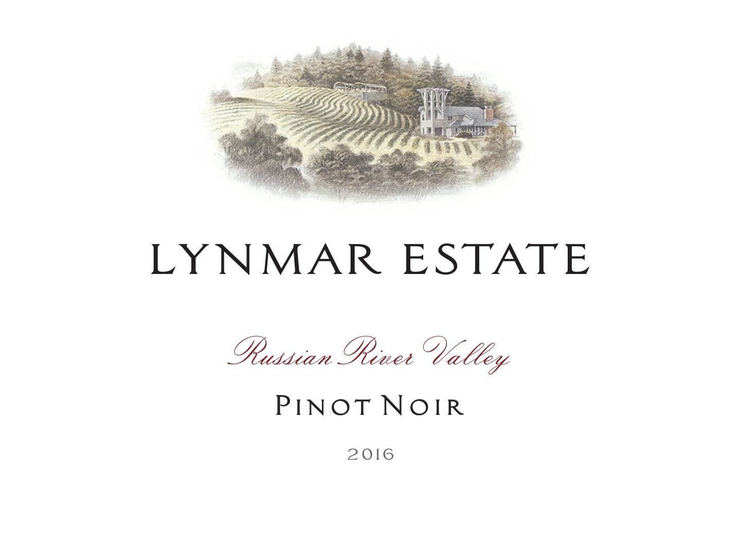 Lynmar Winery Russian River Pinot Noir 2016 Front Label