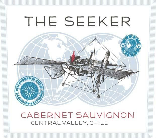The Seeker Cabernet Sauvignon 2018 Front Label
