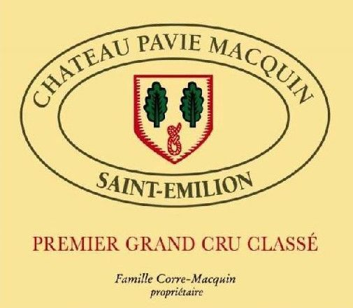 Chateau Pavie Macquin (6-Pack OWC Futures Pre-Sale) 2018  Front Label