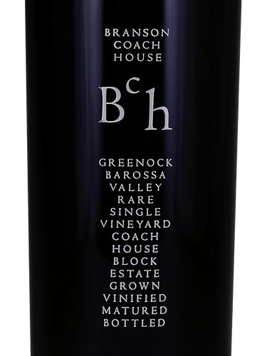 Branson Coach House Coach House Block Shiraz 2005  Front Label