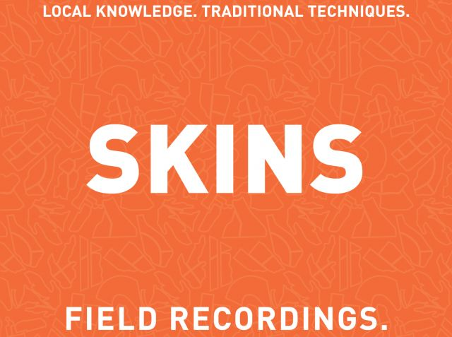 Field Recordings Skins 2020  Front Label