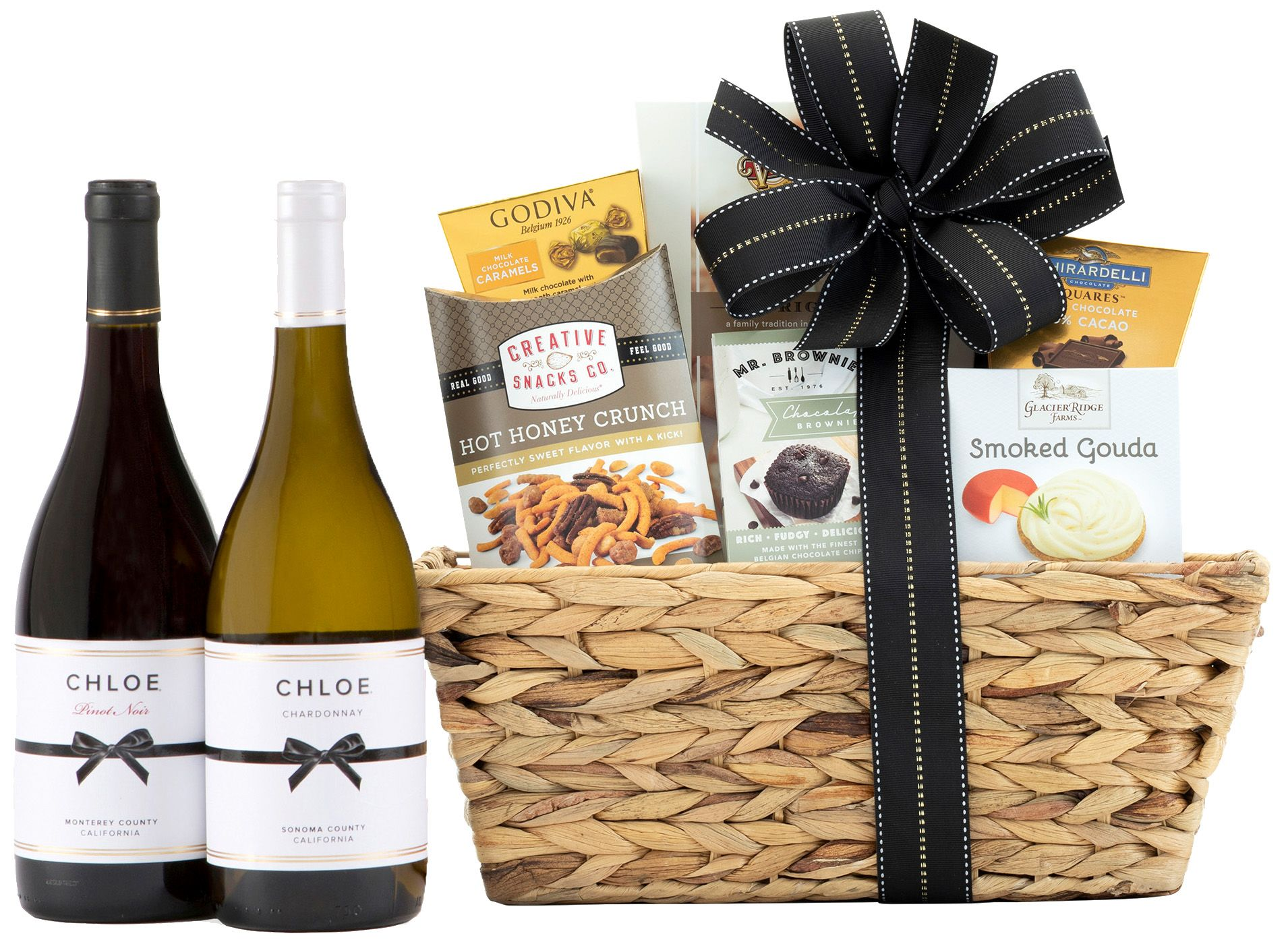 wine.com Delectable Duet Wine Gift Basket  Gift Product Image