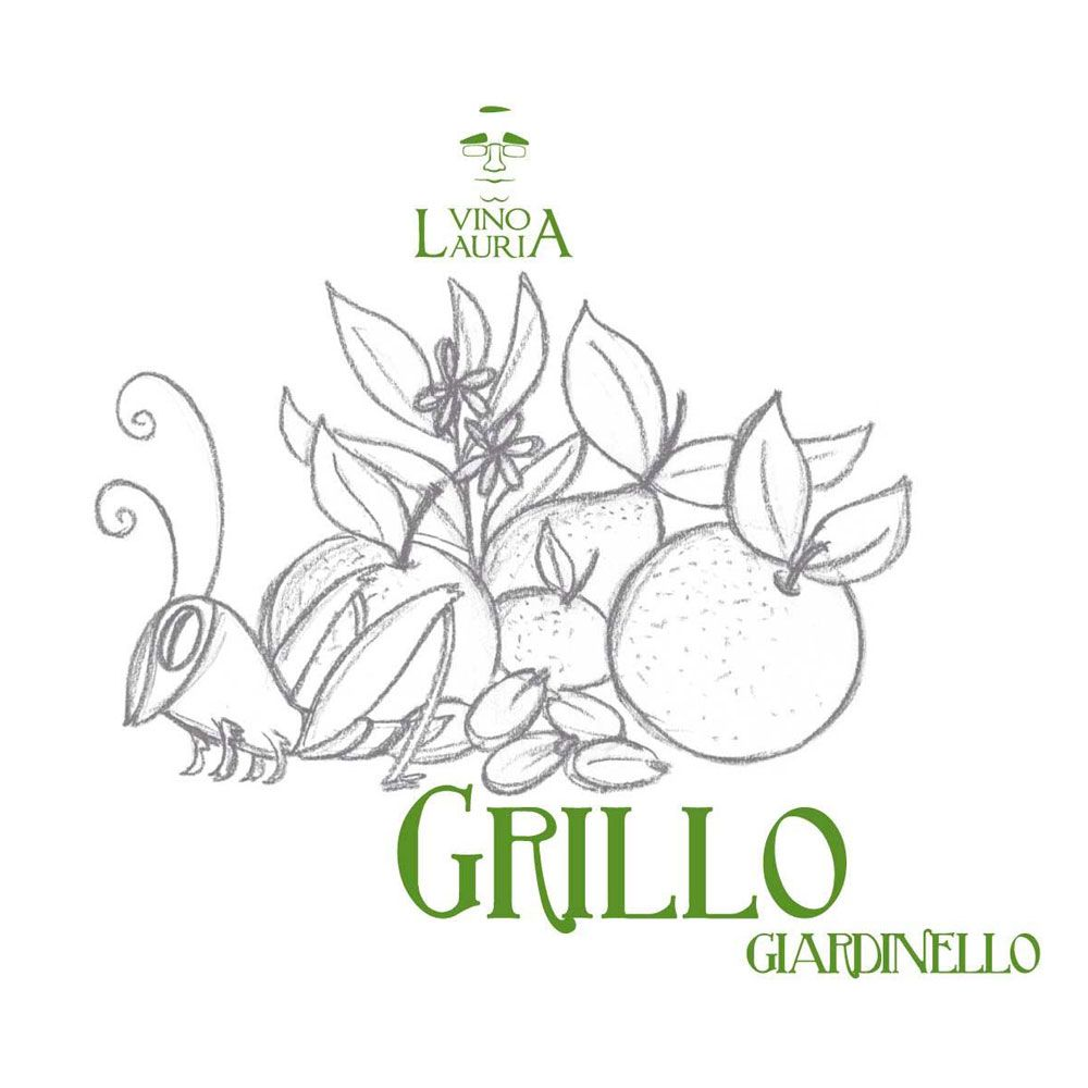 Vino Lauria Grillo 2018  Front Label