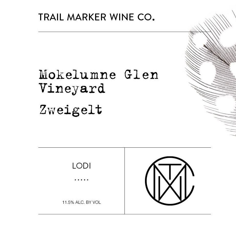 Trail Marker Wine Co. Mokelumne Glen Zweigelt 2017 Front Label