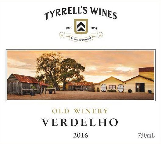 Tyrrell's Old Winery Verdelho 2016  Front Label