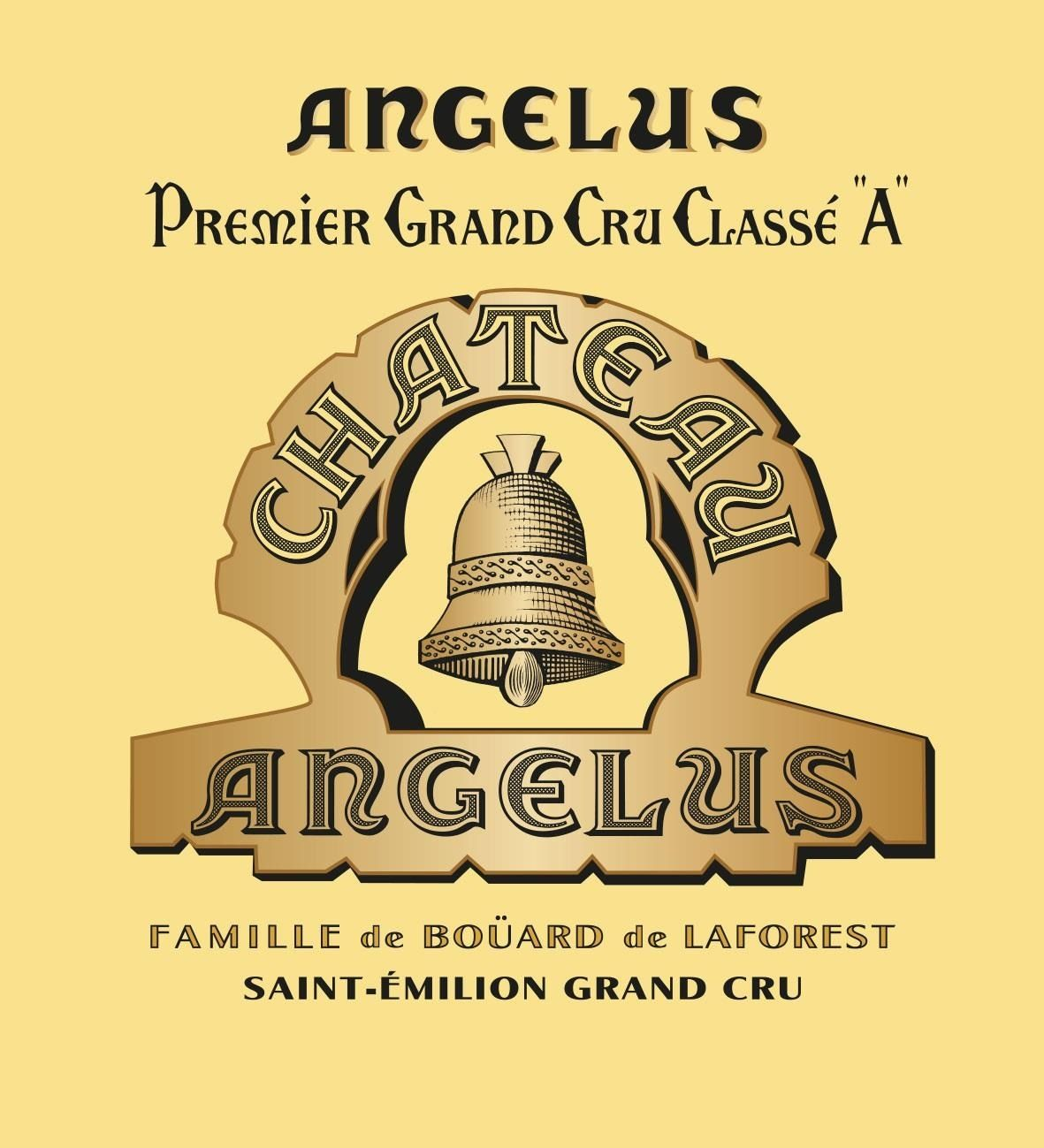 Chateau Angelus (Futures Pre-Sale) 2018  Front Label