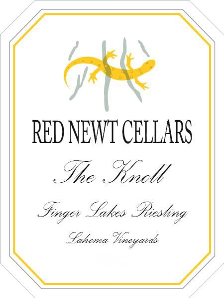 Red Newt Cellars The Knoll Riesling 2015  Front Label