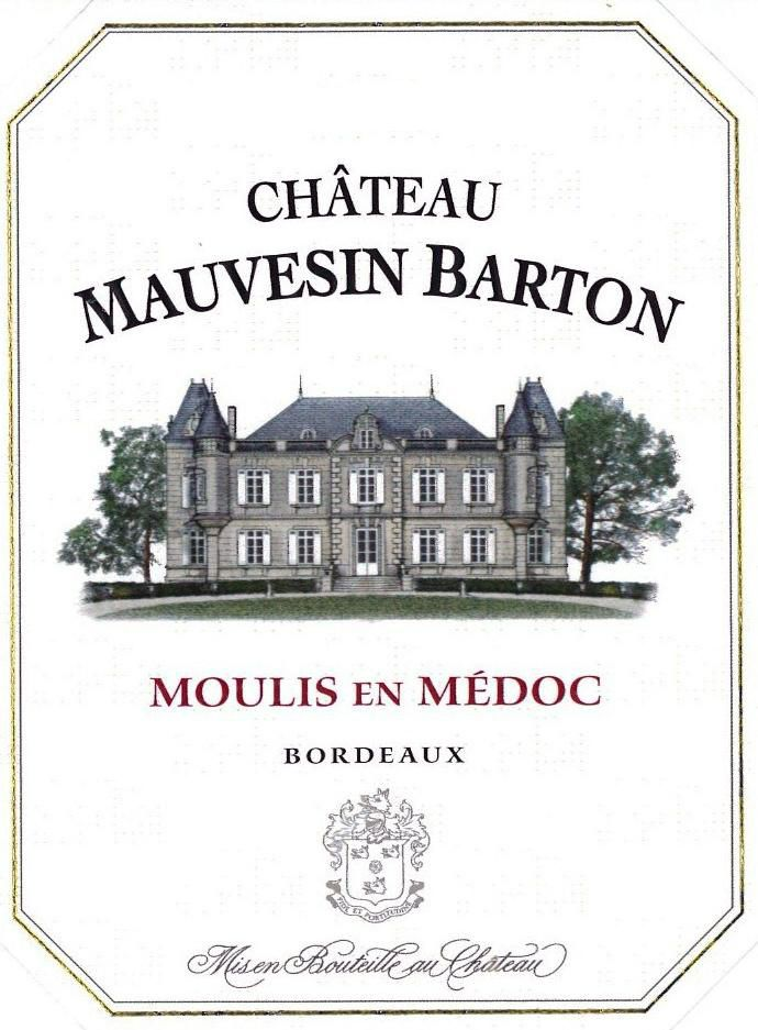 Chateau Mauvesin Barton (Futures Pre-Sale) 2018  Front Label