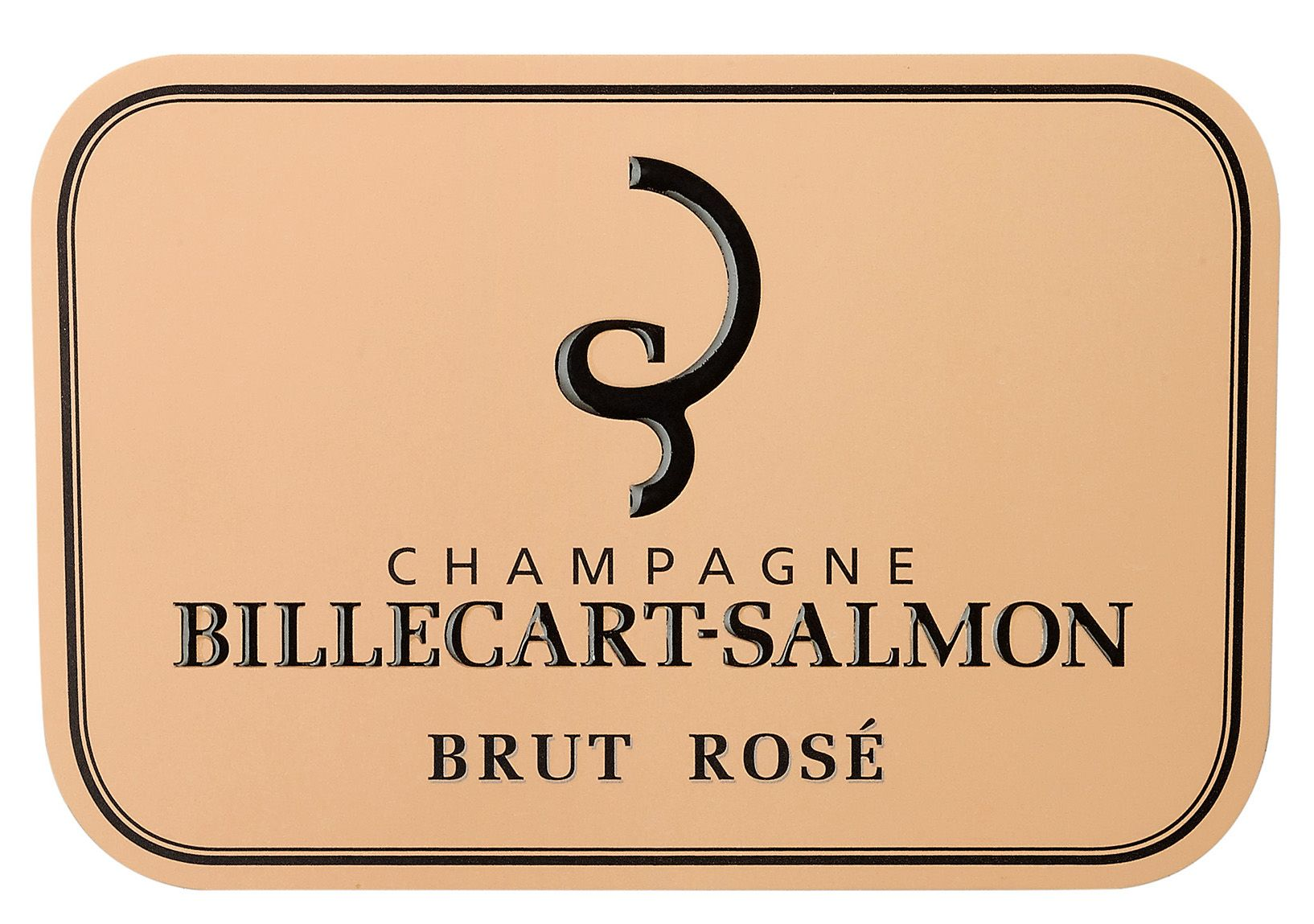 Billecart-Salmon Brut Rose (375ML half-bottle) Front Label