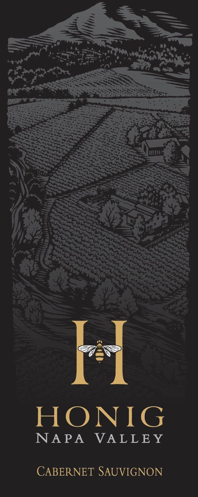 Honig Cabernet Sauvignon (375ML half-bottle) 2015 Front Label