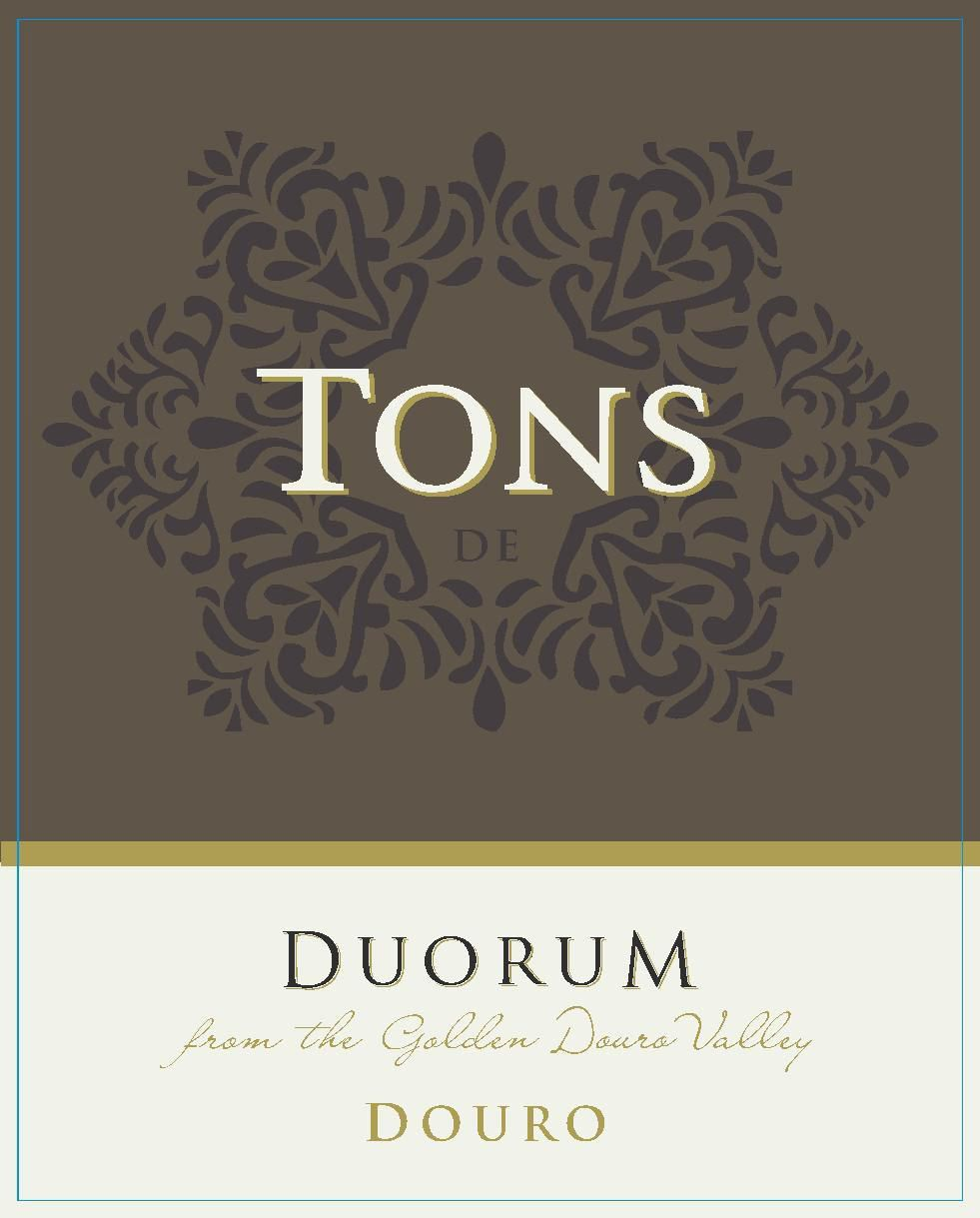 Duorum Tons De Duorum White Blend 2019  Front Label