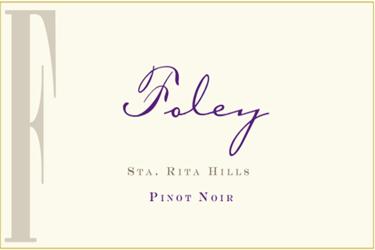 Foley Estate Winery Sta. Rita Hills Pinot Noir 2014  Front Label